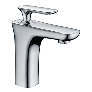 Best sale chrome one hole basin mixer faucet for bathroom sink