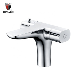 HIMARK high end two handle thermostatic bathroom basin mixer faucet